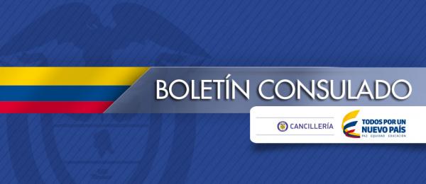 Consulado de Colombia en Buenos Aires - boletín