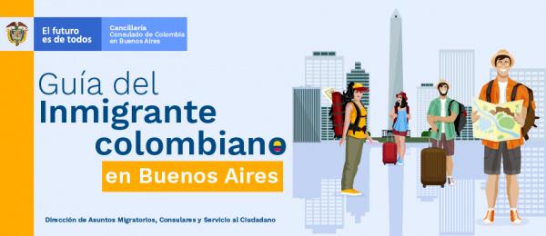 Guía del Inmigrante colombiano en Buenos Aires