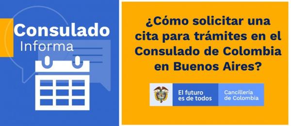 ¿Cómo solicitar una cita para trámites en el Consulado de Colombia?