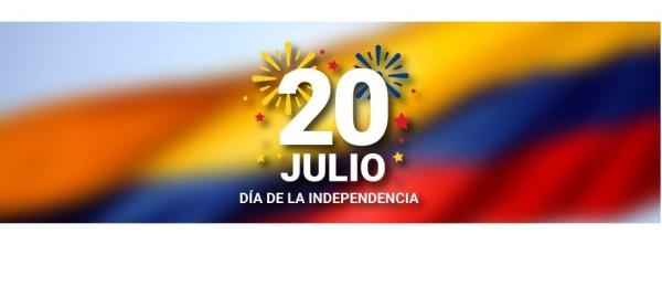 Consulado General de Colombia en Buenos Aires informa que el martes 20 de julio no prestará atención