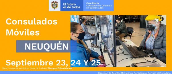 Consulado de Colombia en Buenos Aires realizará la jornada de Consulado Móvil