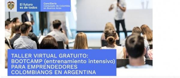 Taller virtual para emprendedores colombianos en Argentina este 15 de septiembre de 2021